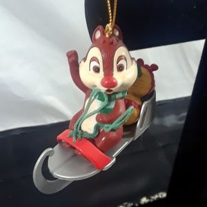 Disney Dale on a Sleigh Collectible Ornament